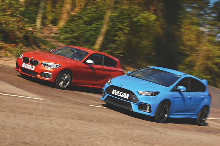 Used test: BMW M135i vs Ford Focus RS