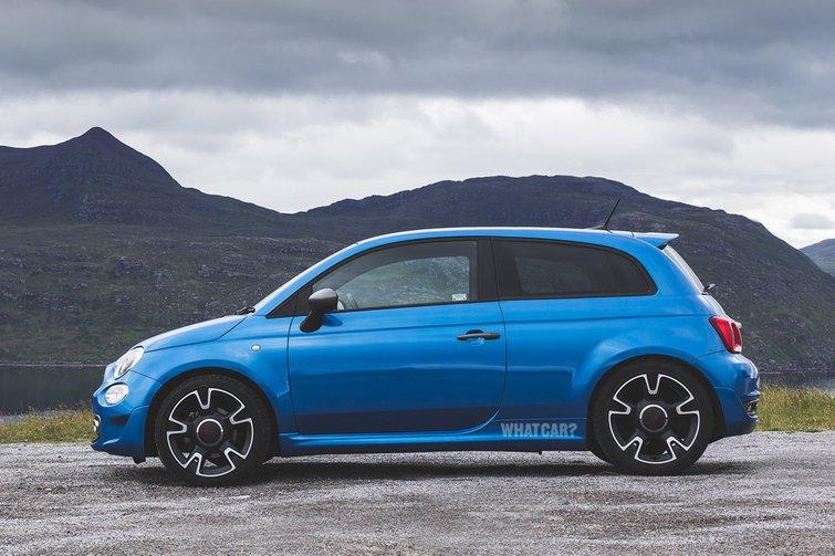 Fiat 500 rendering