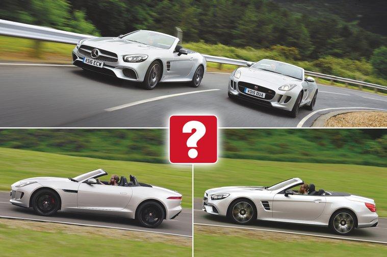 Used test: Jaguar F-Type vs Mercedes-Benz SL