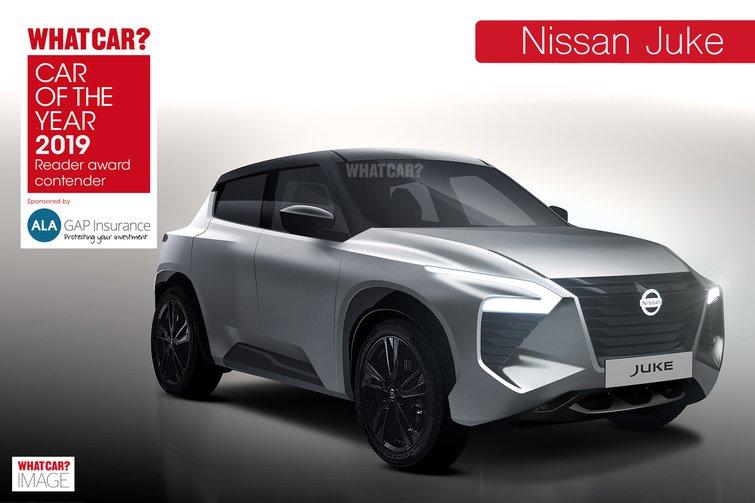 Nissan Juke Reader Award
