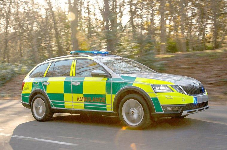 Skoda Octavia Estate Ambulance