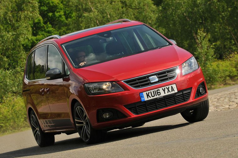 Seat Alhambra front