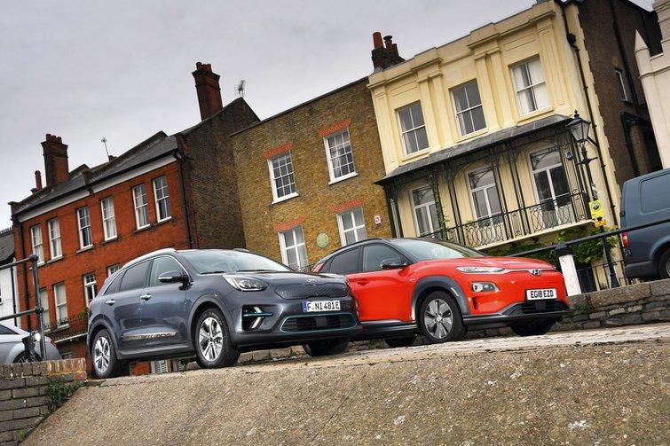 New Kia e-Niro vs Hyundai Kona Electric