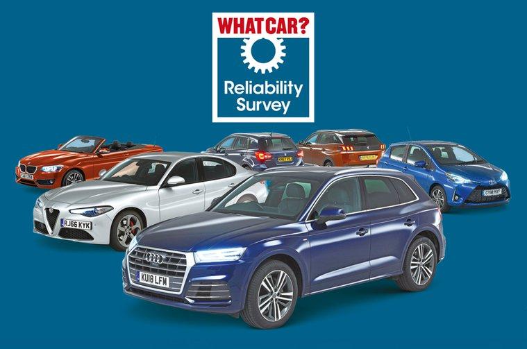 2018 What Car Reliability Survey winners