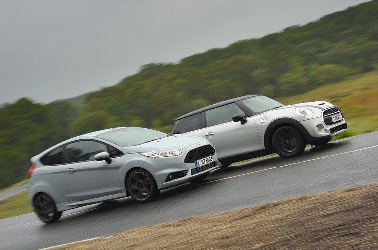 Used test: Ford Fiesta ST vs Mini Cooper S