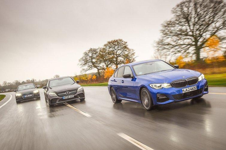 New BMW 3 Series & Mercedes-Benz C-Class vs Audi A4