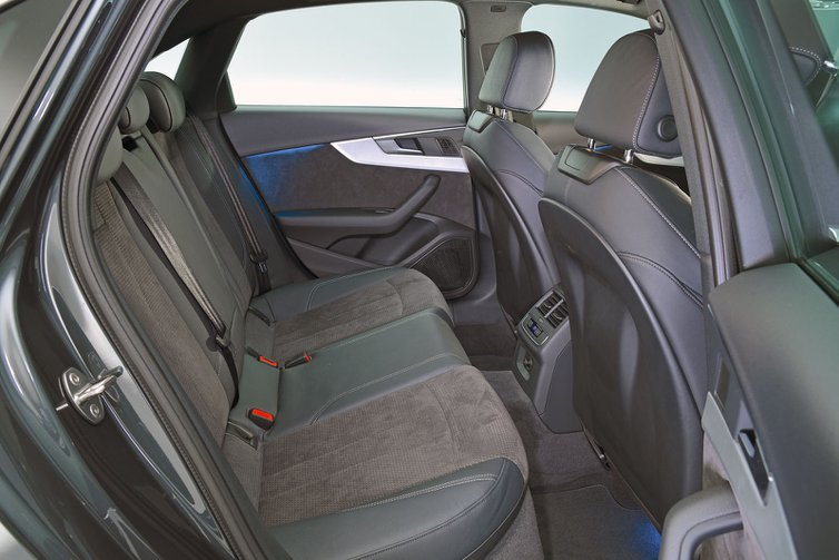 Audi A4 rear seats