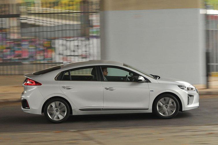 Used Hyundai Ioniq side