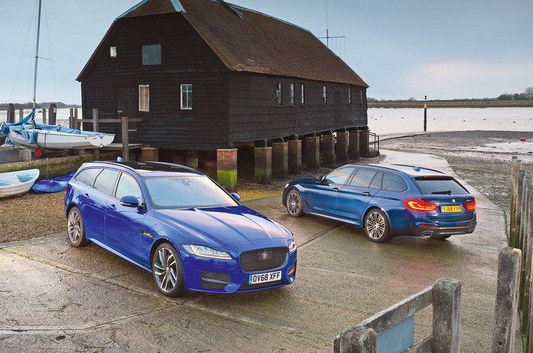 BMW 5 Series Touring vs Jaguar XF