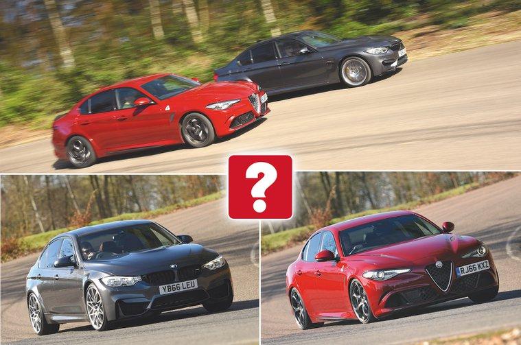 Used test: Alfa Romeo Giulia Quadrifoglio vs BMW M3