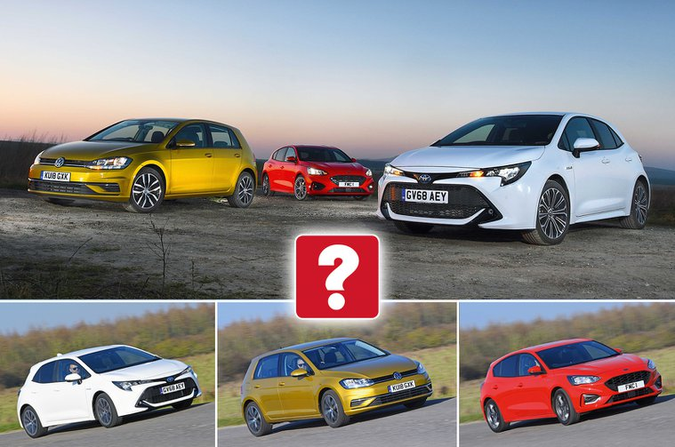 New Toyota Corolla vs Ford Focus vs Volkswagen Golf