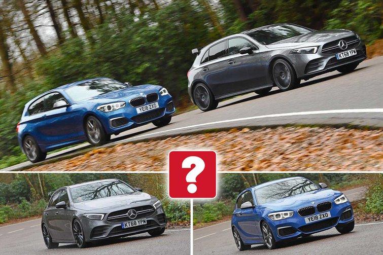 New Mercedes-AMG A35 vs BMW M140i