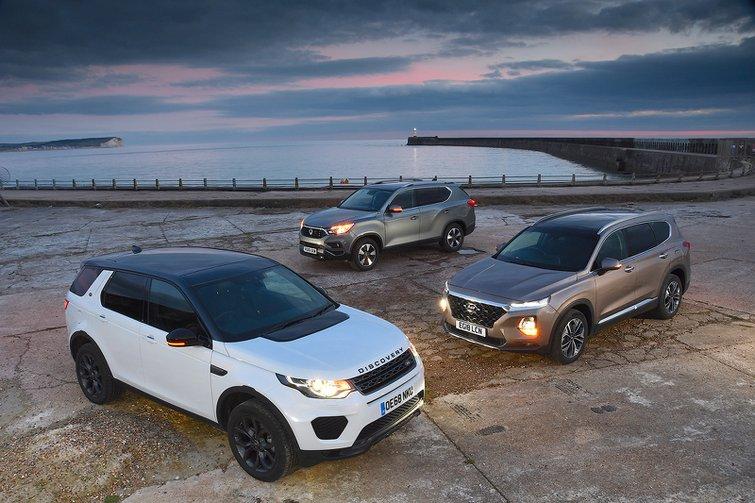 Hyundai Santa Fe vs Land Rover Discovery Sport vs Ssangyong Rexton