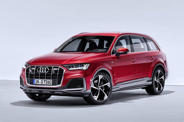 2020 Audi Q7 front