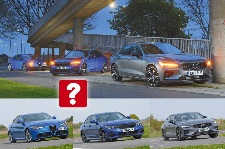 New Volvo S60 vs Alfa Romeo Giulia vs BMW 3 Series