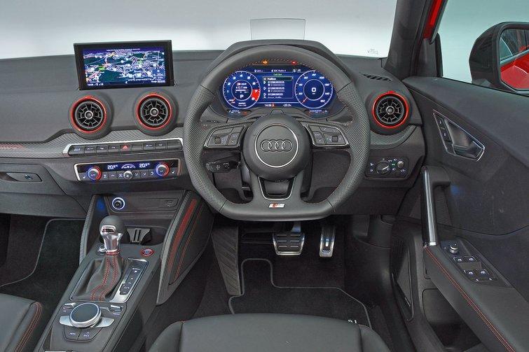 Audi SQ2 interior