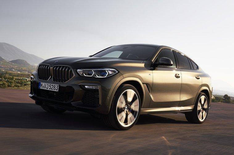 2020 BMW X6 front
