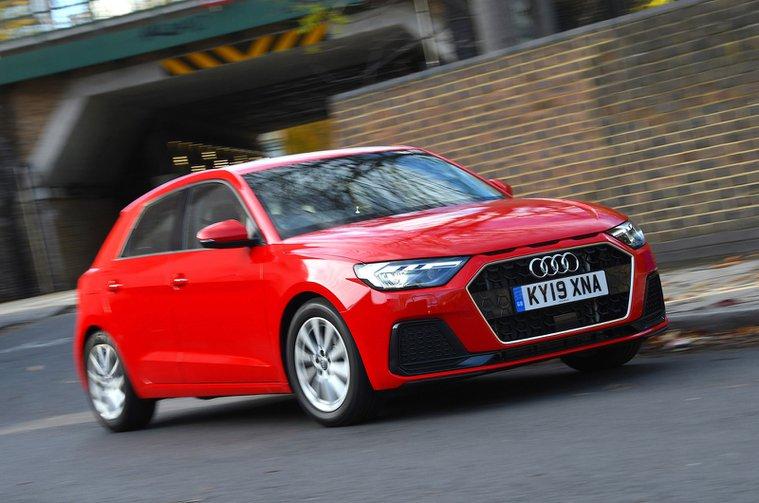 Audi A1 front