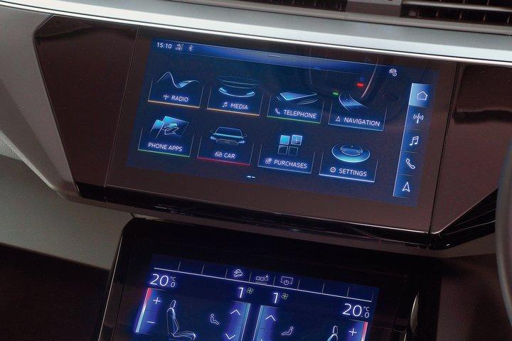 Audi E-Tron infotainment