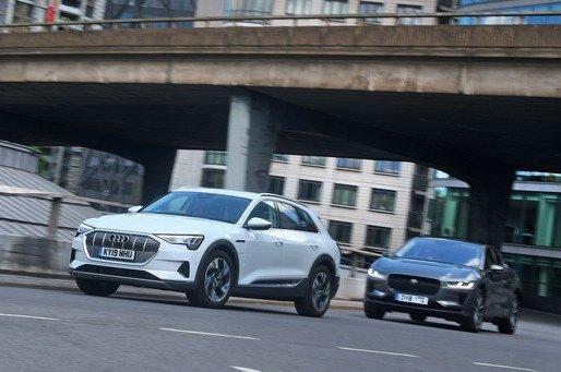 New Audi E-tron vs Jaguar I-Pace