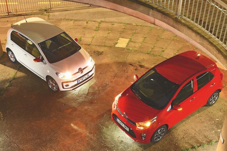Kia Picanto vs VW Up