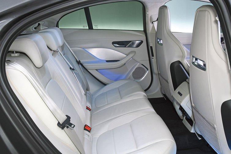 Jaguar I-Pace rear seats