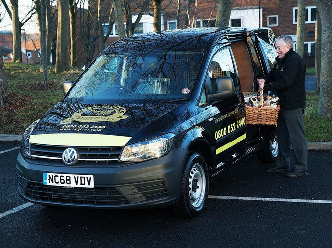 With a 240-strong fleet of Volkswagen Caddys, specialist team company Ringtons needs its vans on the road and working
