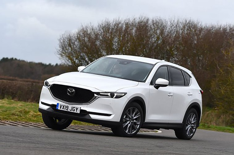 Mazda CX-5 front and side