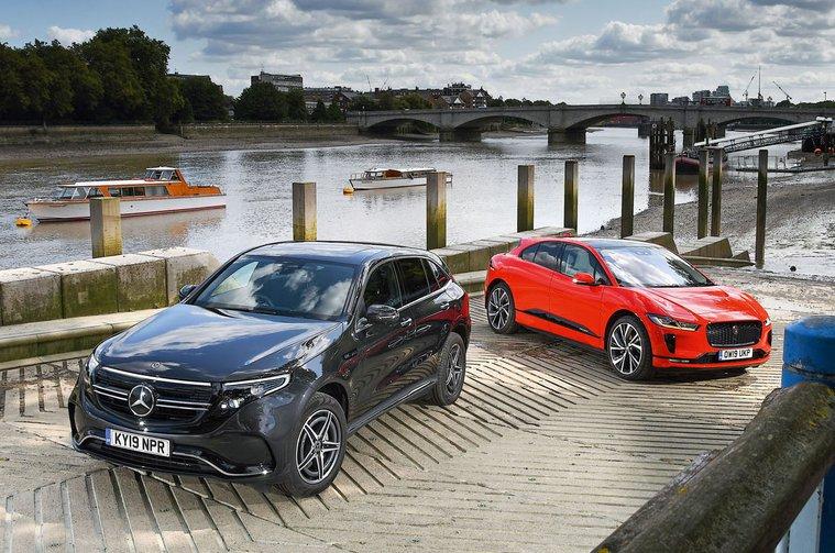 New Mercedes EQC vs Jaguar I-Pace