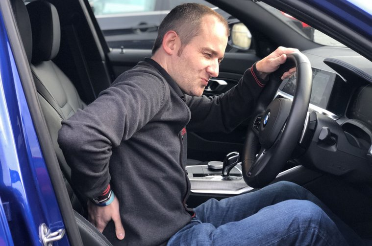 LT BMW 3 Series causing back pain
