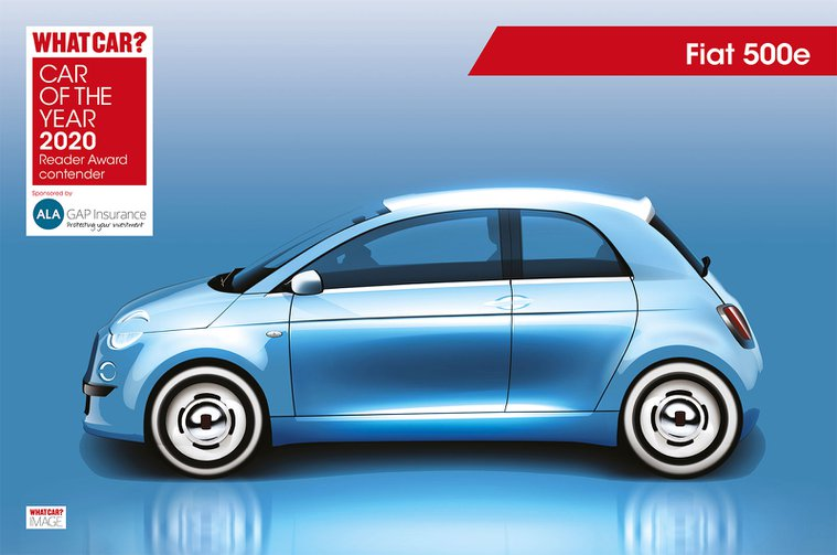 Fiat 500e Reader Award