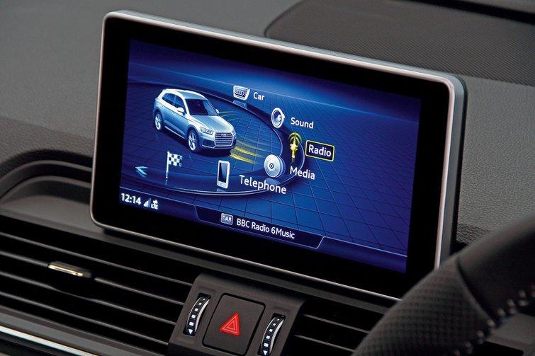 Audi Q5 infotainment