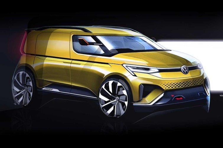 2020 VW Caddy sketch
