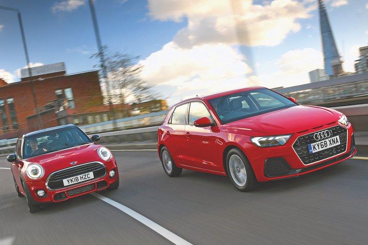Used test: Audi A1 Sportback vs Mini 5dr