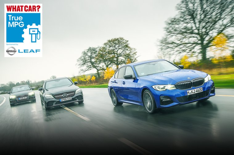 Most efficient executive cars - True MPG