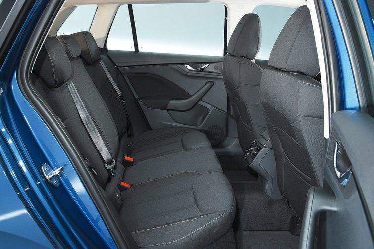 Skoda Kamiq rear seats