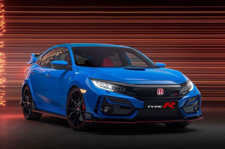 2020 Honda Civic Type R front