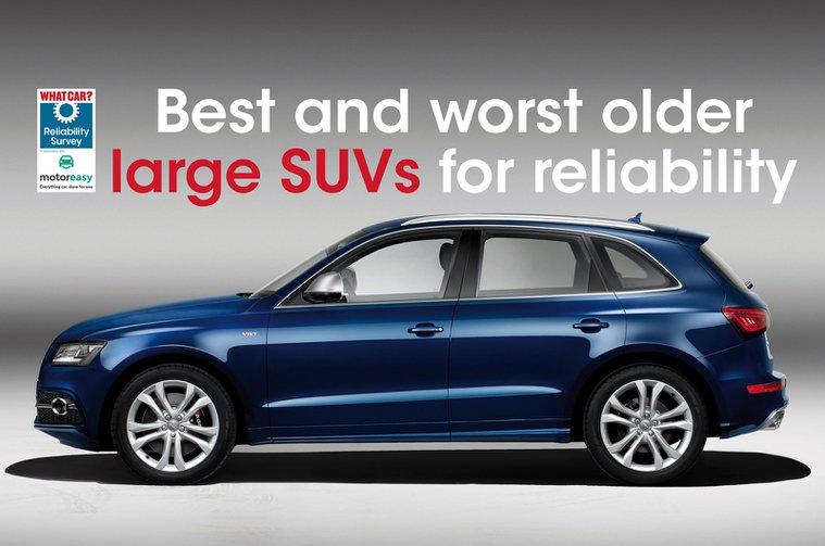 Audi Q5 - one of the best older large SUVs for reliability