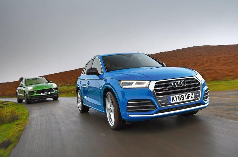 Audi SQ5 vs Morsche Macan S