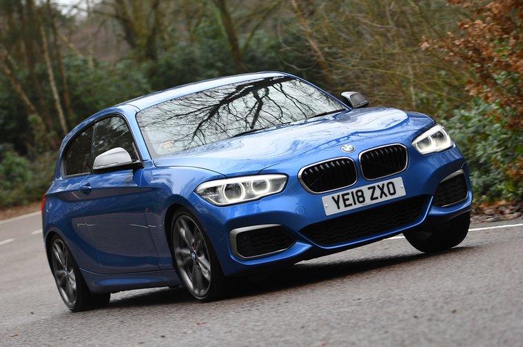 BMW M140i front