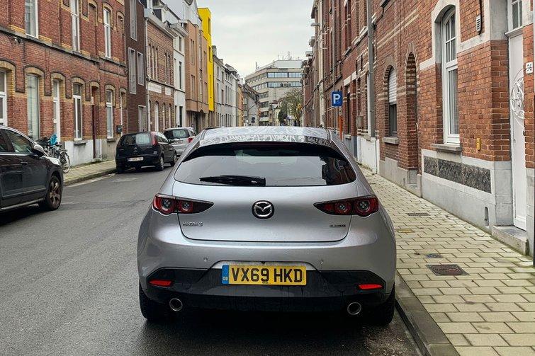 Mazda 3 in Belgium