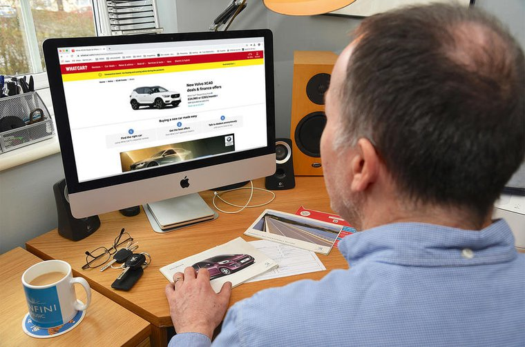 Online car buying