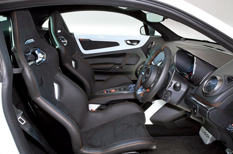 Alpine A110 S seats - private plate