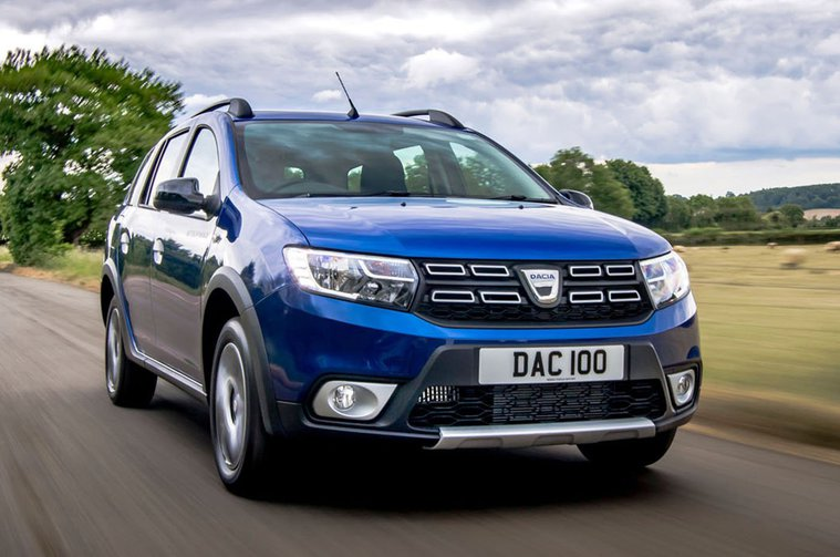 Dacia Sandero Stepway Bi-Fuel front
