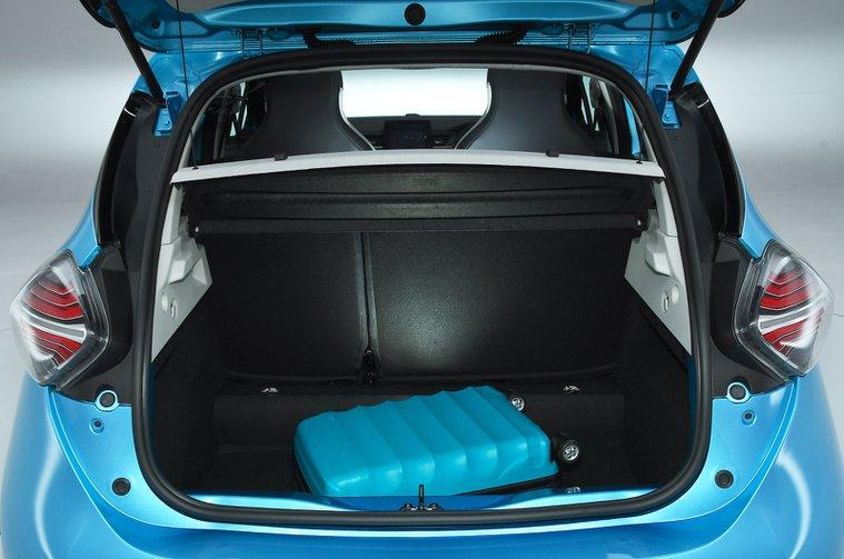 Renault Zoe boot