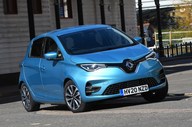 Renault Zoe front cornering