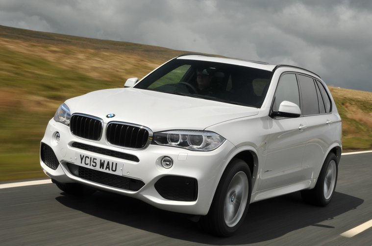 Used BMW X5 front corner