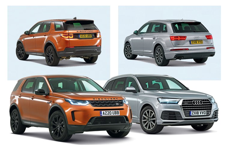 New Land Rover Discovery Sport vs used Audi Q7