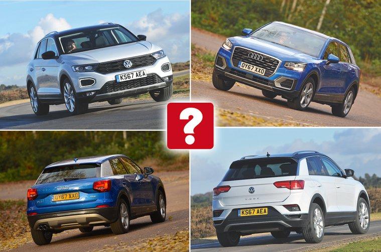 Audi Q2 vs VW T-Roc