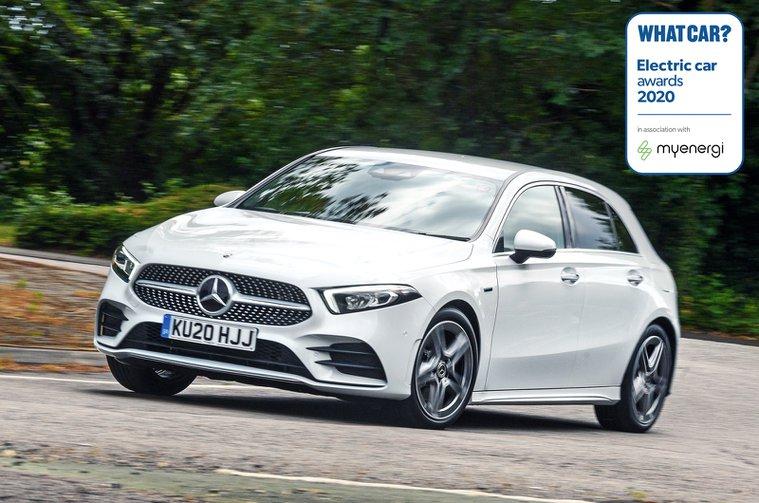 Electric Car Awards - Mercedes A250e